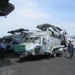 Hubscrauber am deck von Enterprise
