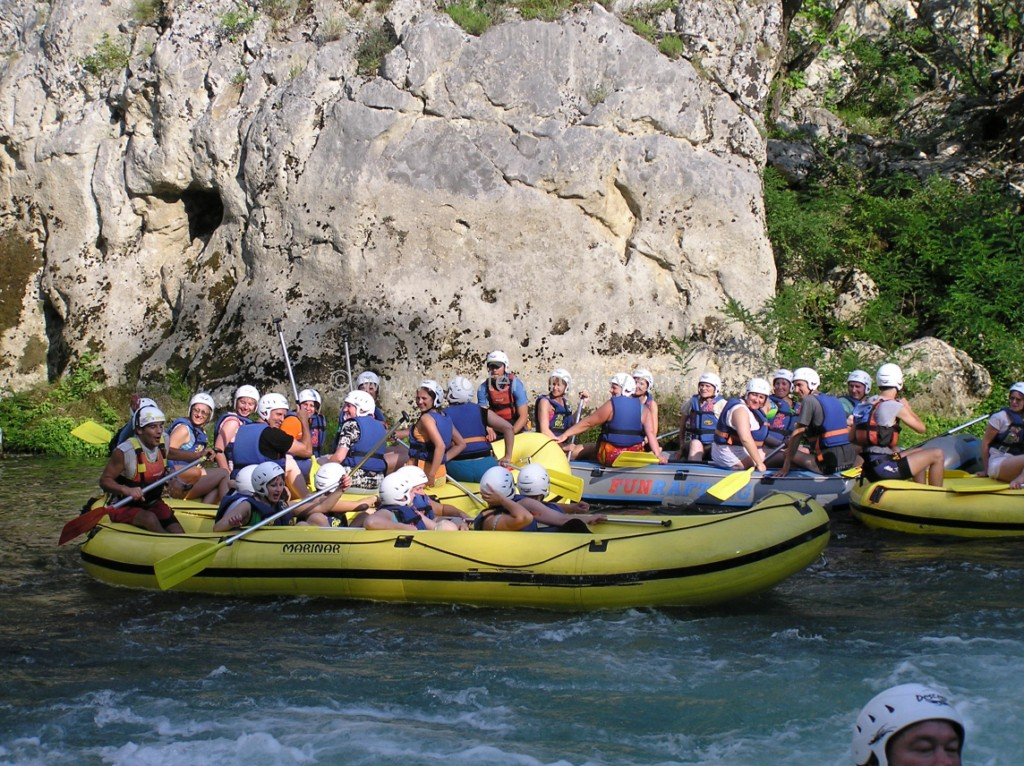 Omis Rafting Cetina
