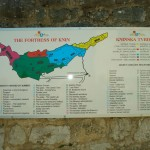 Karte Festung