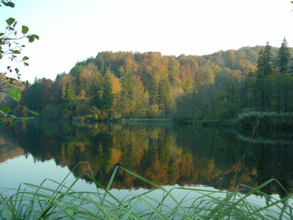 Plivicer seen Herbst
