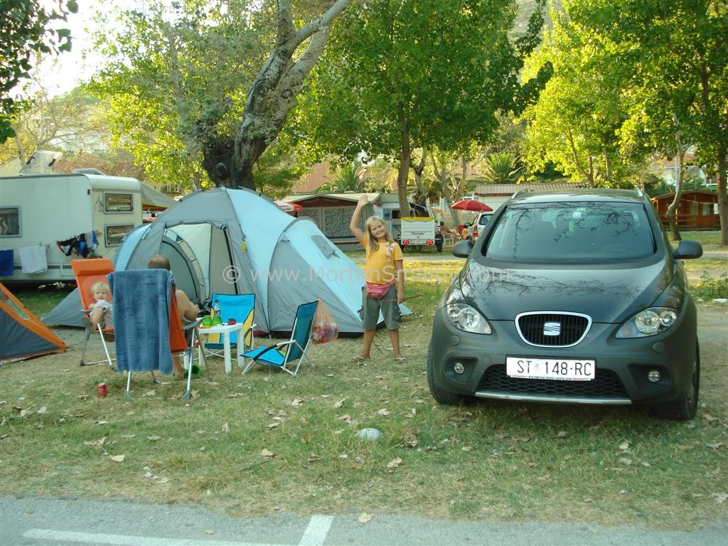 Camping Galeb hier haben wir gewohnt