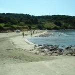 Korcula strand in Lumbarda