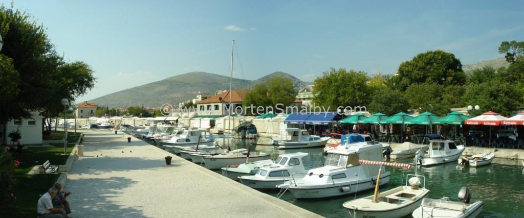 Panorama mini marina und markt