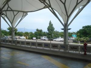 Split Flughafen parken vor der tuer