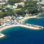 Luftfoto Kastelet Strand