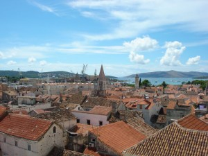 Trogir Ausblick von der Kathedrale