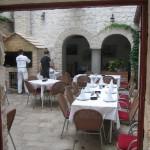Trogir restaurant Kamerlengo