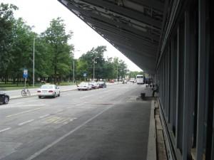Zagreb Flughafen vor der terminal