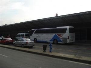 Zagreb flughafen - flughafenbus