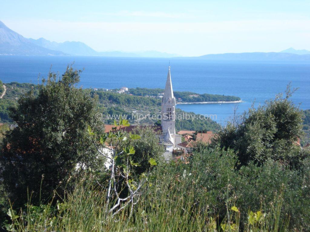 Selca auf Insel Brac