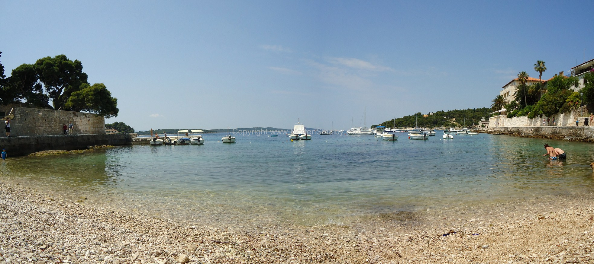 Strand in Hvar