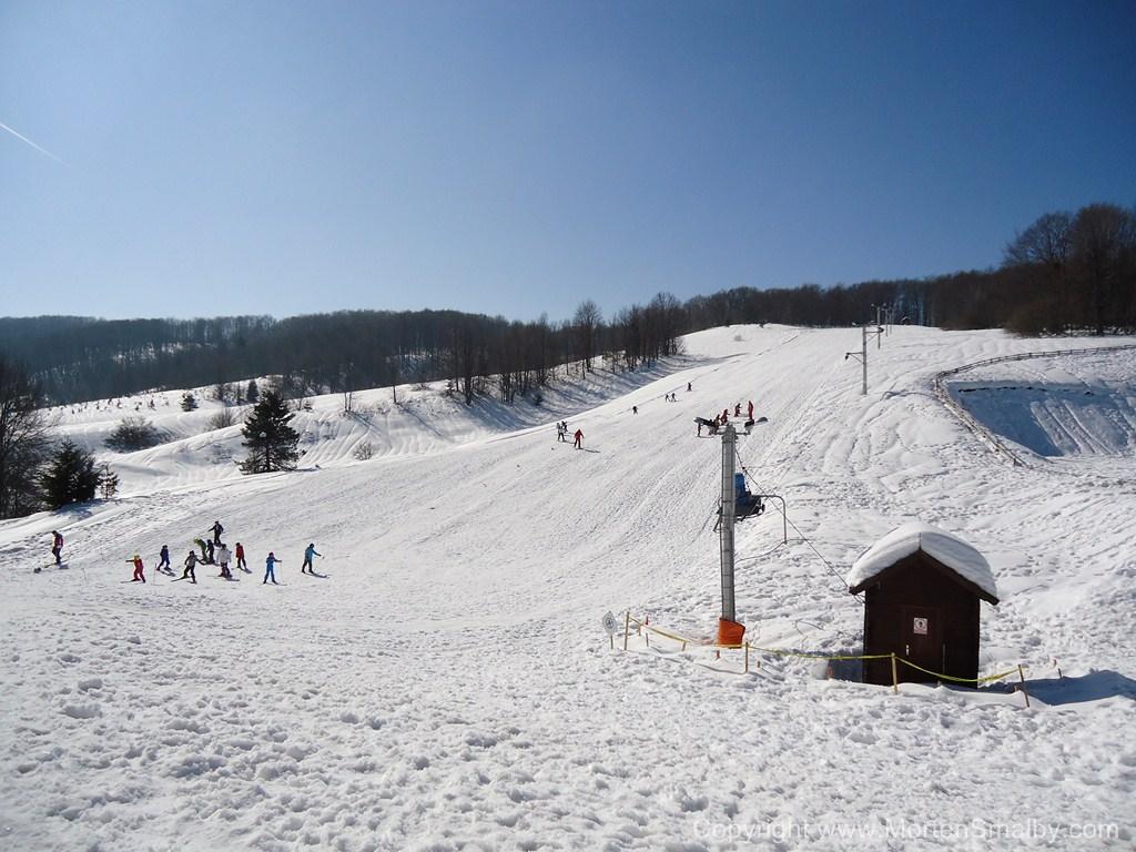 Mukinje Skilaufen