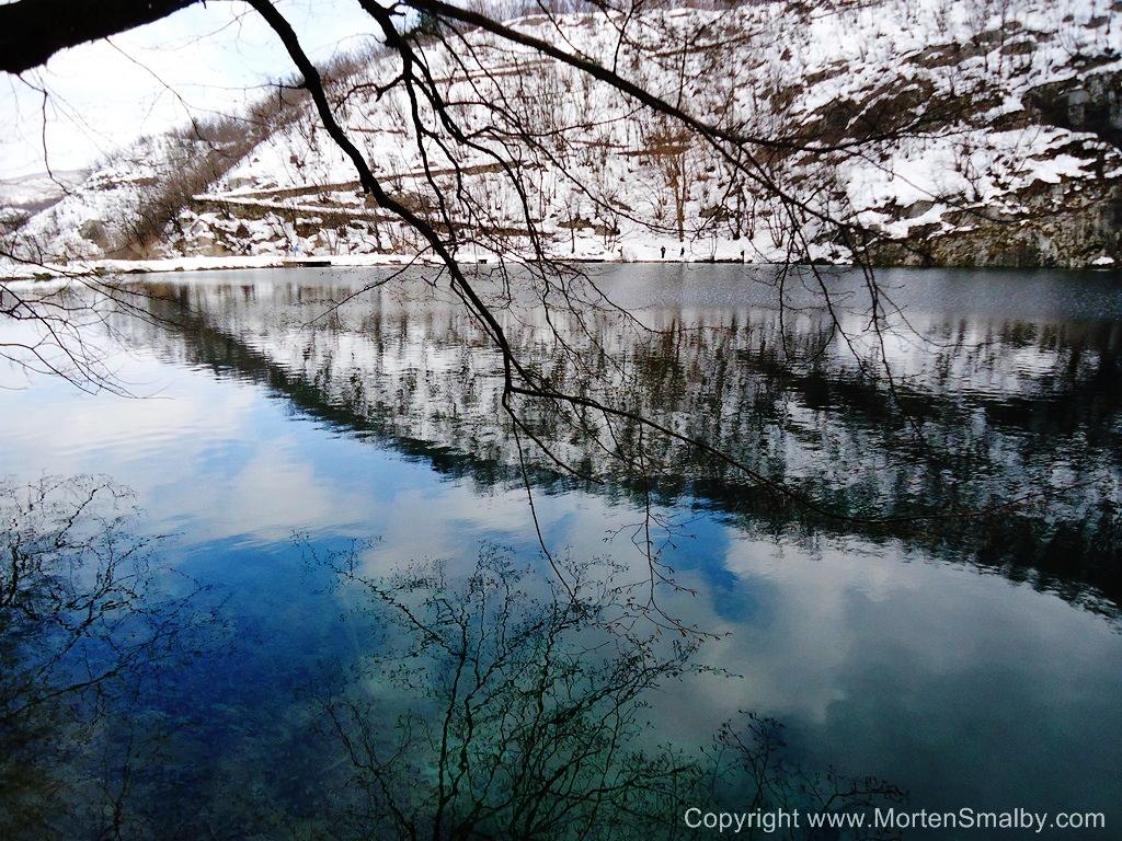 Winter Foto Plitvicer Seen