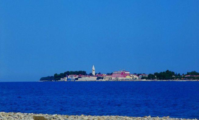 Strande Istrien Karte.Strand Porec Die Besten Strande In Porec Istrien