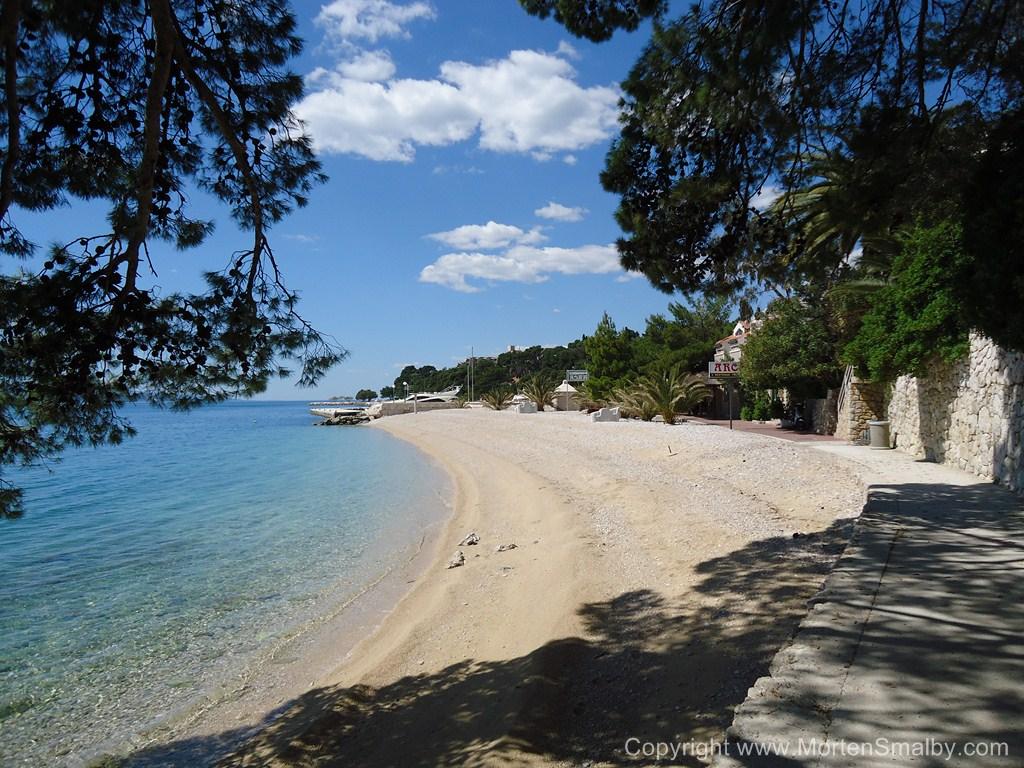 Stadt strand Brela