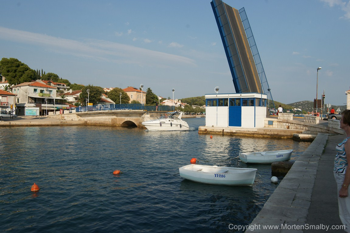 Tisno Brücke