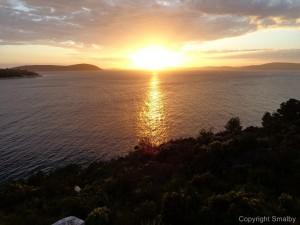 Sonnenuntergang Solta