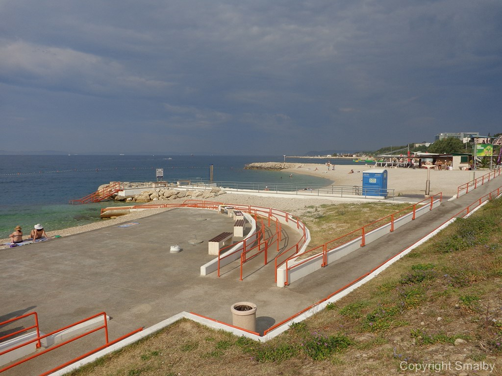Behinderte Strand Kroatien