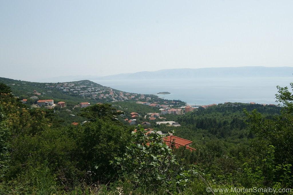 Blick auf Klenovica