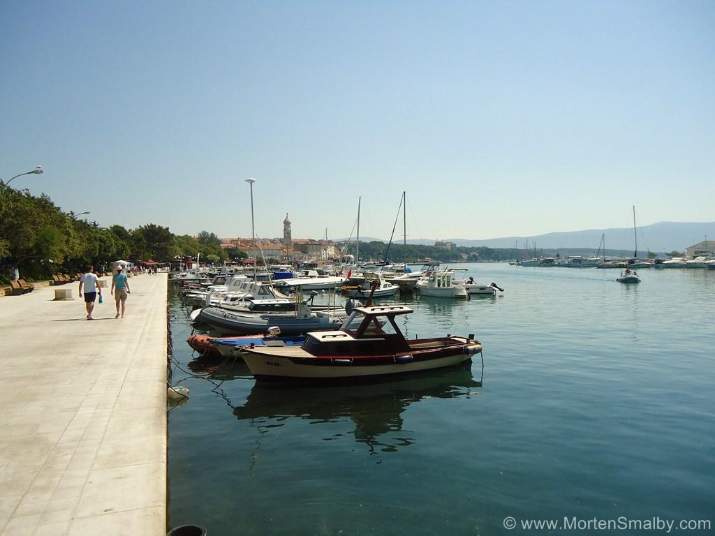 Promenade Stadt Krk