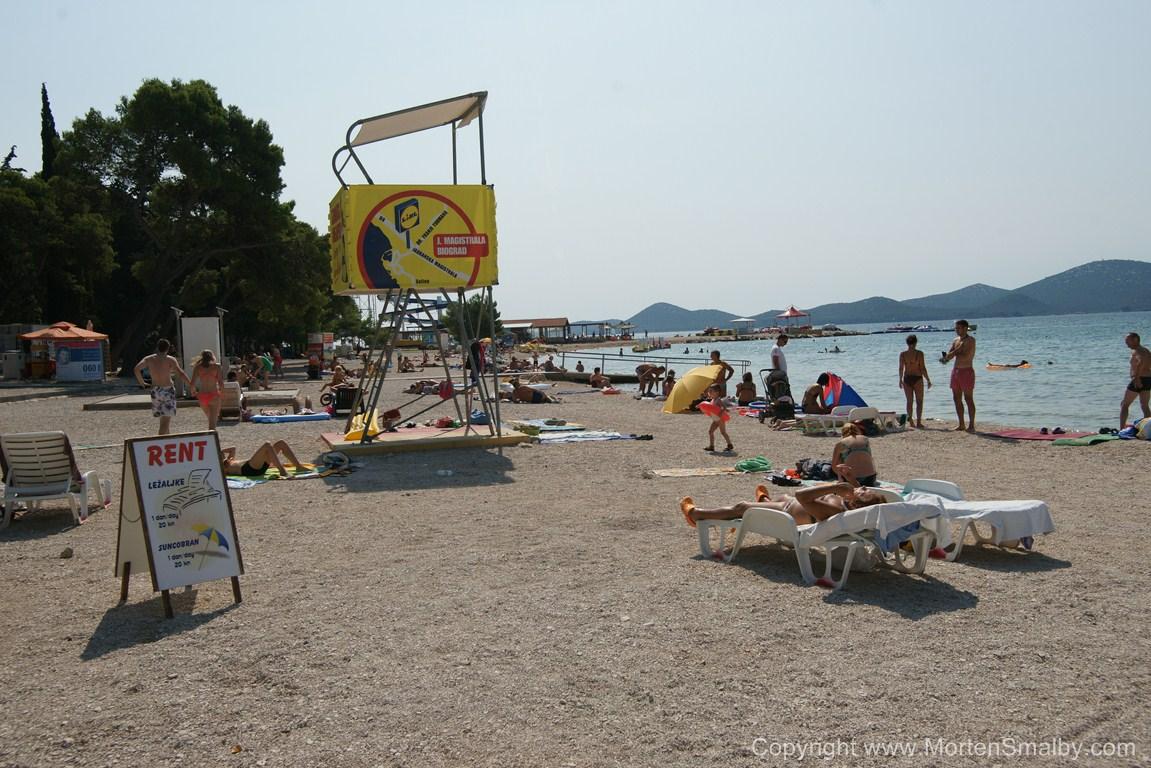 Strand in Biograd na moru