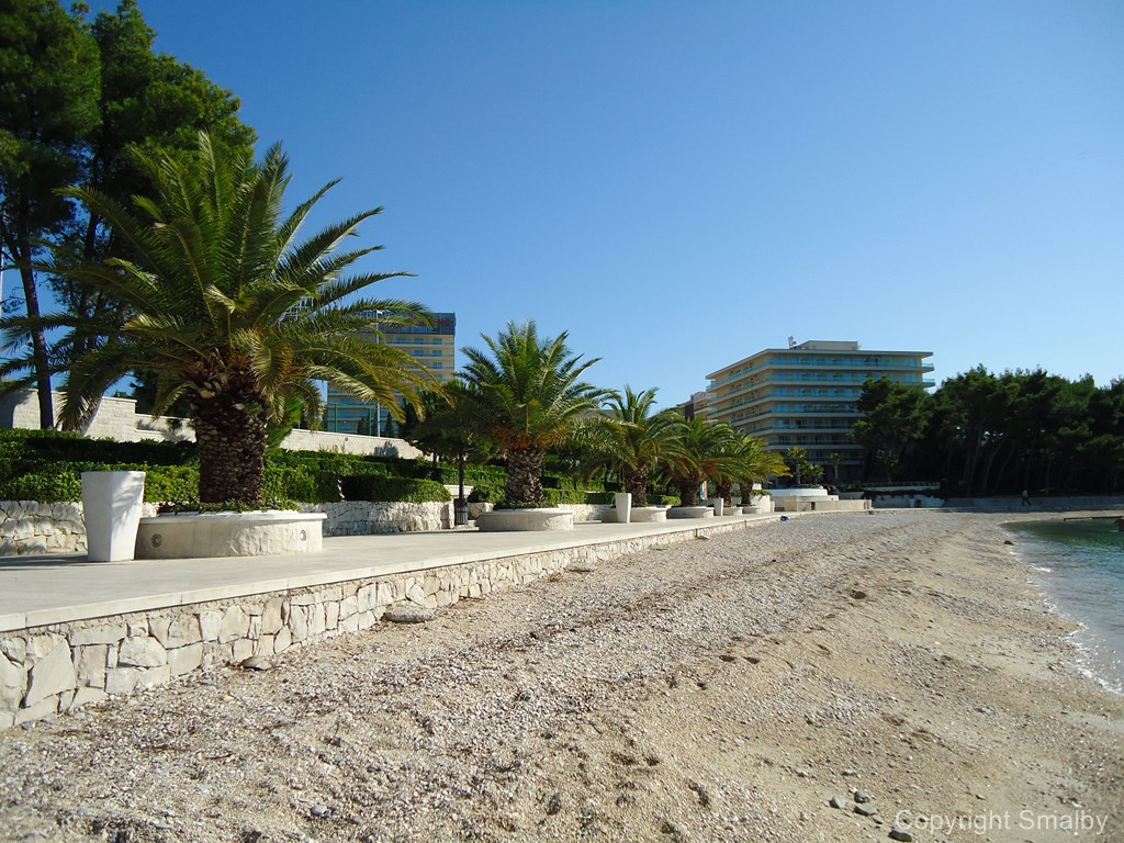 Strand in Podstrana