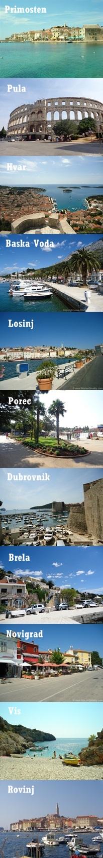 Lieblingsorte Kroatien